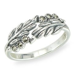 Marcasite jewelry ring HR1405 1