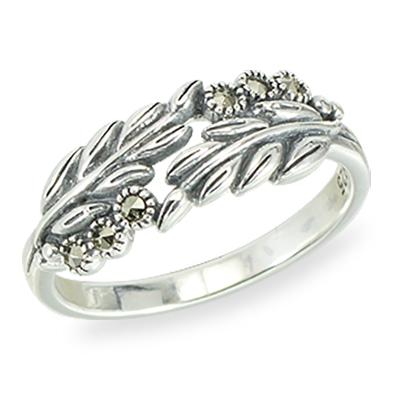 Marcasite jewelry ring HR1405 1