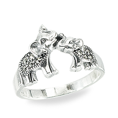 Marcasite jewelry ring HR1406 1