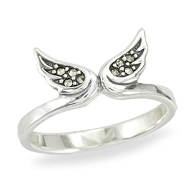 Marcasite jewelry ring HR1410 1