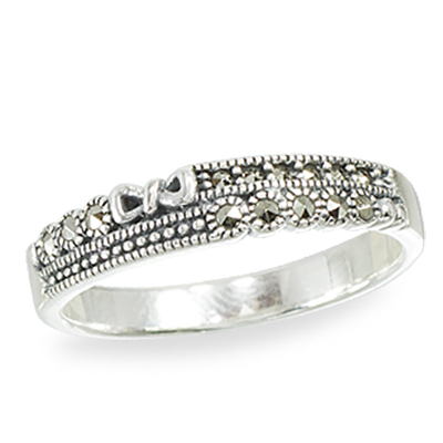 Marcasite jewelry ring HR1411 1