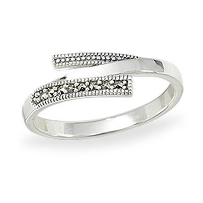 Marcasite jewelry ring HR1412 1