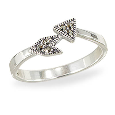 Marcasite jewelry ring HR1413 1