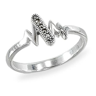 Marcasite jewelry ring HR1415 1