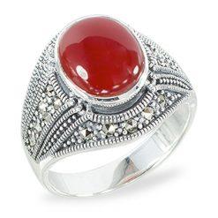 Marcasite jewelry ring HR1417 1