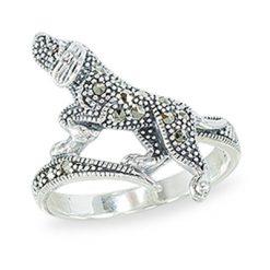 Marcasite jewelry ring HR1419 1