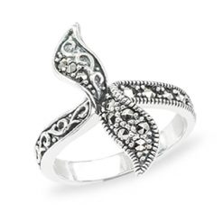 Marcasite jewelry ring HR1421 1