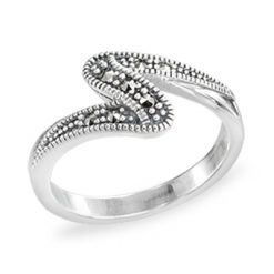 Marcasite jewelry ring HR1423 1