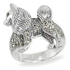Marcasite jewelry ring HR1424 1