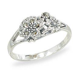 Marcasite jewelry ring HR1427 1