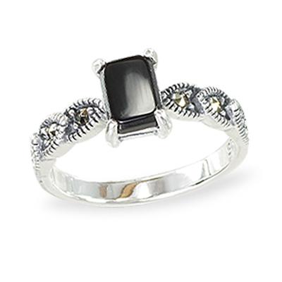 Marcasite jewelry ring HR1428 1