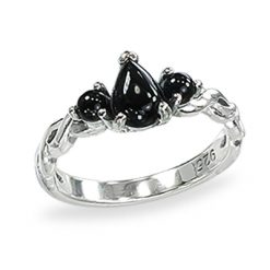 Marcasite jewelry ring HR1430 1