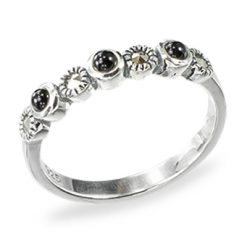 Marcasite jewelry ring HR1438 1