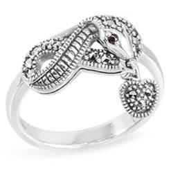 Marcasite jewelry ring HR1446 1
