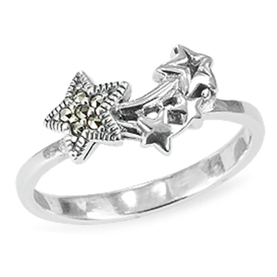 Marcasite jewelry ring HR1451 1