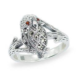 Marcasite jewelry ring HR1452 1