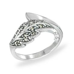 Marcasite jewelry ring HR1454 1