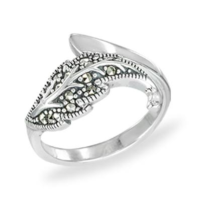 Marcasite jewelry ring HR1454 1