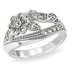 Marcasite jewelry ring HR1455 1