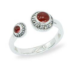 Marcasite jewelry ring HR1457 1