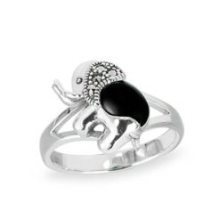 Marcasite jewelry ring HR1460 1