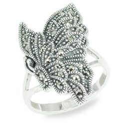 Marcasite jewelry ring HR1462 1