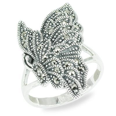 Marcasite jewelry ring HR1462 1