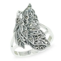 Marcasite jewelry ring HR1463 1