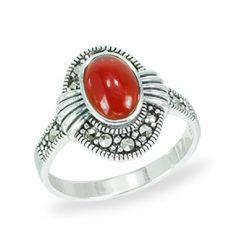 Marcasite jewelry ring HR1464 1