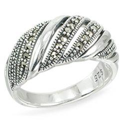 Marcasite jewelry ring HR1467 1