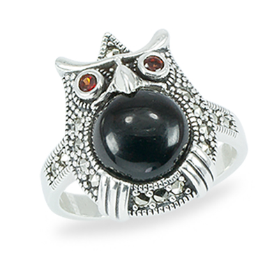 Marcasite jewelry ring HR1472 1