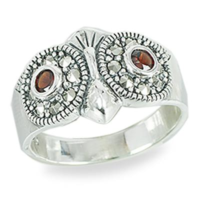 Marcasite jewelry ring HR1478 1