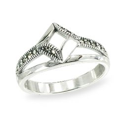 Marcasite jewelry ring HR1504 1