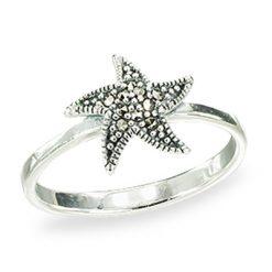 Marcasite jewelry ring HR1505 1