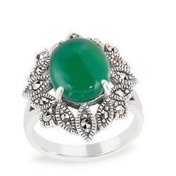 Marcasite jewelry ring HR1539 1
