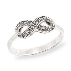 Marcasite jewelry ring HR1541 1