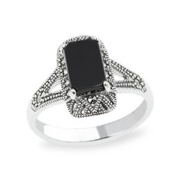 Marcasite jewelry ring HR1548 1