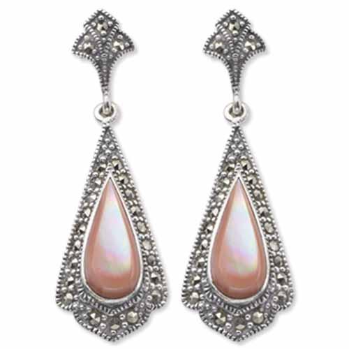 marcasite earring HE0008 1