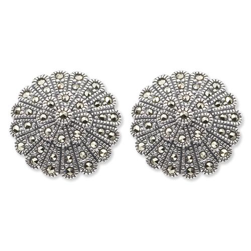 marcasite earring HE0013 1