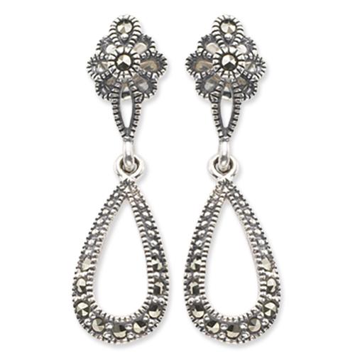 marcasite earring HE0015 1