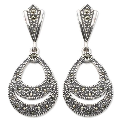 marcasite earring HE0023 1