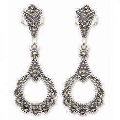marcasite earring HE0043 1