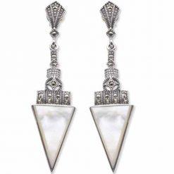 marcasite earring HE0046 1