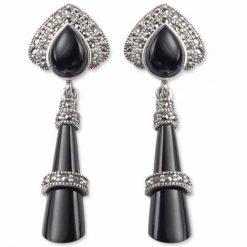 marcasite earring HE0048 1
