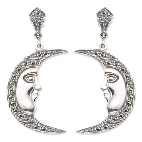 marcasite earring HE0049 1