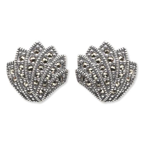 marcasite earring HE0050 Sml 1