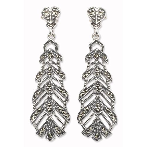 marcasite earring HE0062 1