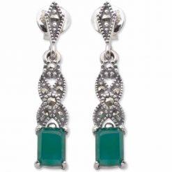 marcasite earring HE0065 1