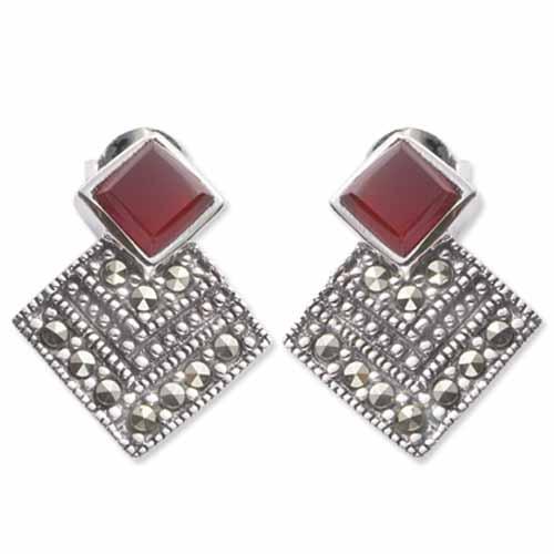 marcasite earring HE0074 1