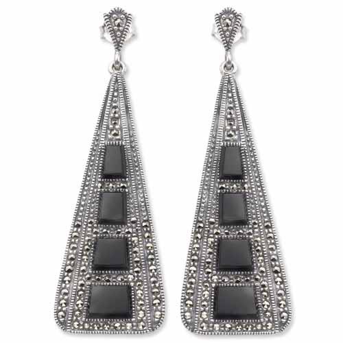 marcasite earring HE0078 1